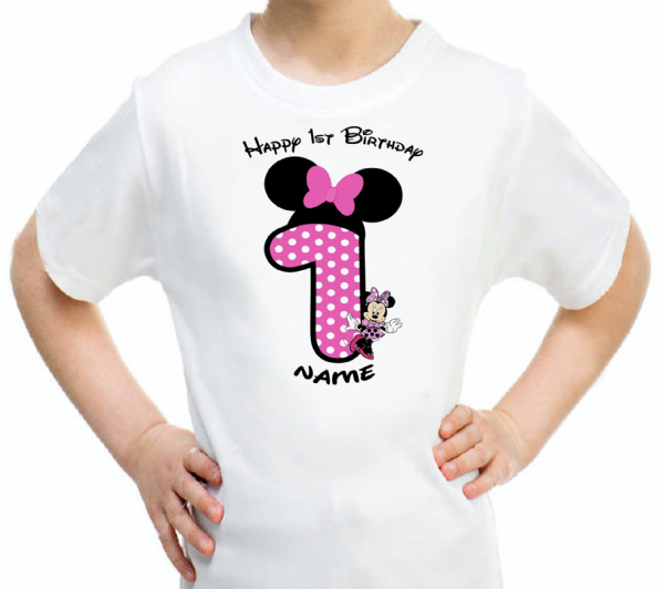 Minnie Disney Birthday T-Shirt